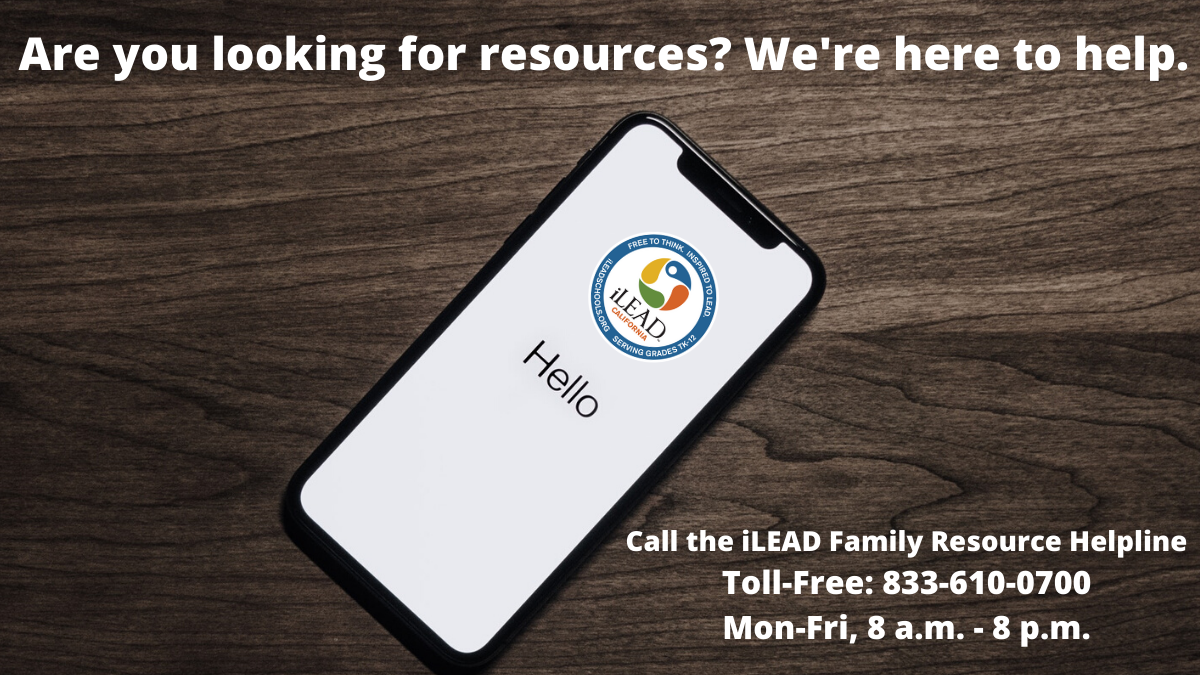 iLEAD Family Resource Helpline