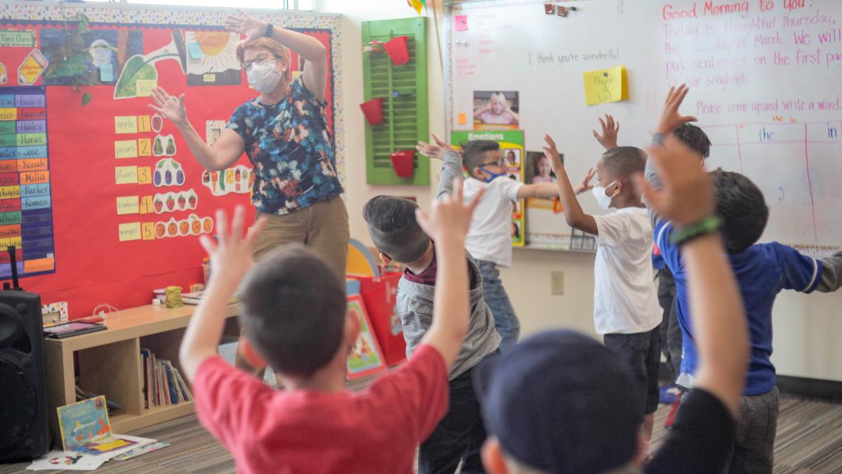 iLEAD Lancaster Classroom Fun
