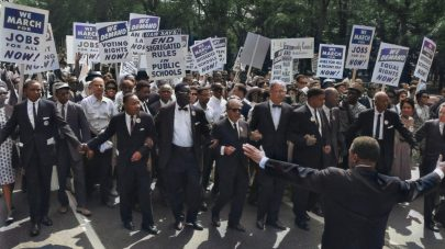 Martin Luther King Jr. desegregation march