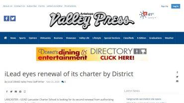 Renewal of Charter School District